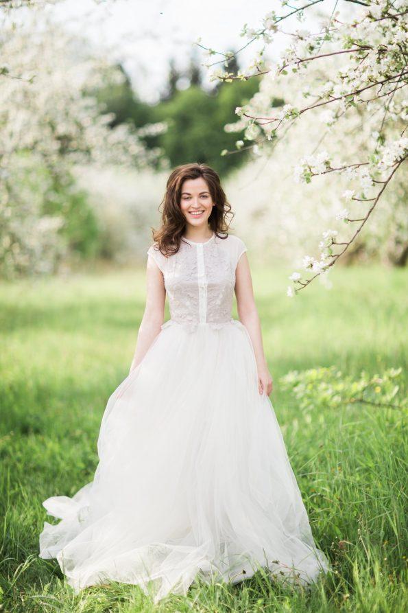 Ball-gown wedding dress
