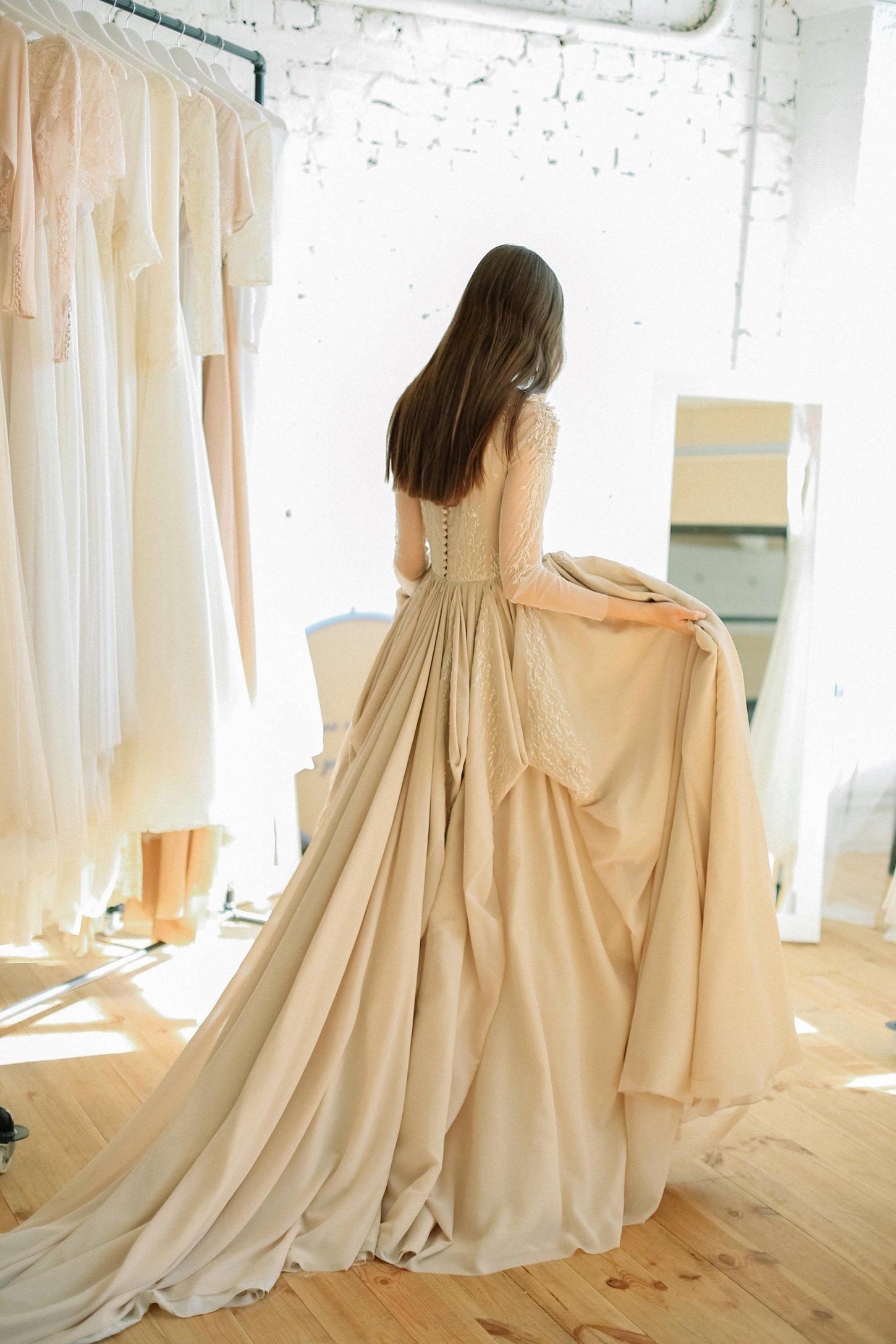 Sheer Ball Gown